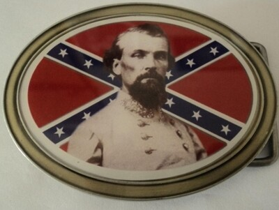 General Nathan B. Forrest Belt Buckle