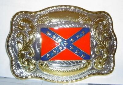 Mega Huge Confederate Belt Buckle