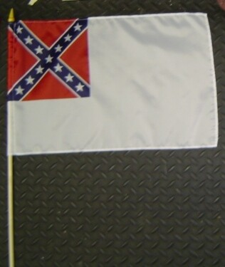 2nd National Gravesite Stick Flag