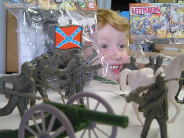 American Civil War Confederate Action Figures