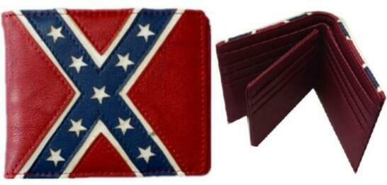 Confederate Leather Bifold Wallet