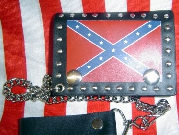 Confederate Leather Trifold Wallet (Small)