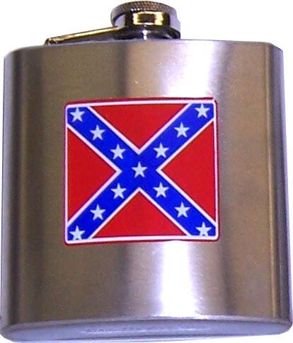 Confederate Flask (Small) - 6 oz.