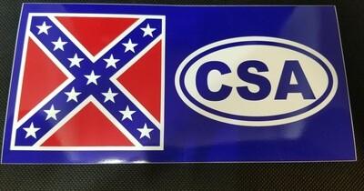 CSA Battle Flag Sticker