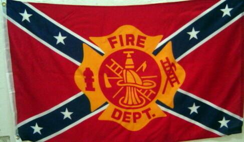 Fire Department Battle Flag