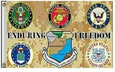 United States Military Flag - Enduring Freedom