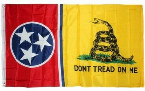 Gadsden Tennessee Combo Flag