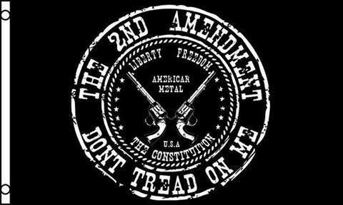 The Second Amendment -  Don't Tread On Me Flag
