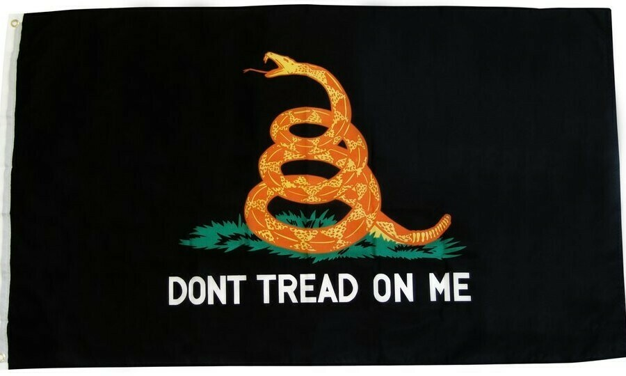 Don't Tread On Me Tactical Flag
