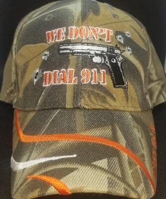 We Don't Dial 911 Cap