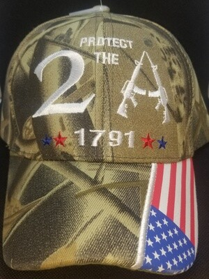 Protected By The 2nd Amendment Cap