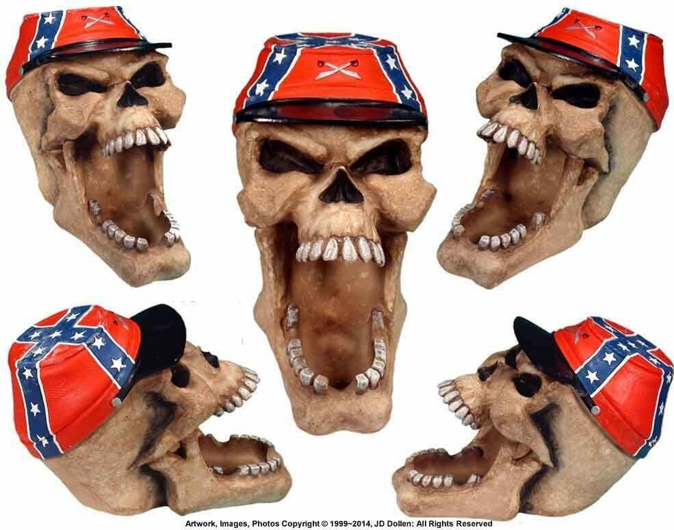 Confederate Skull - Multi Purpose