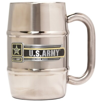 Army Stainless Steel Barrel Mug