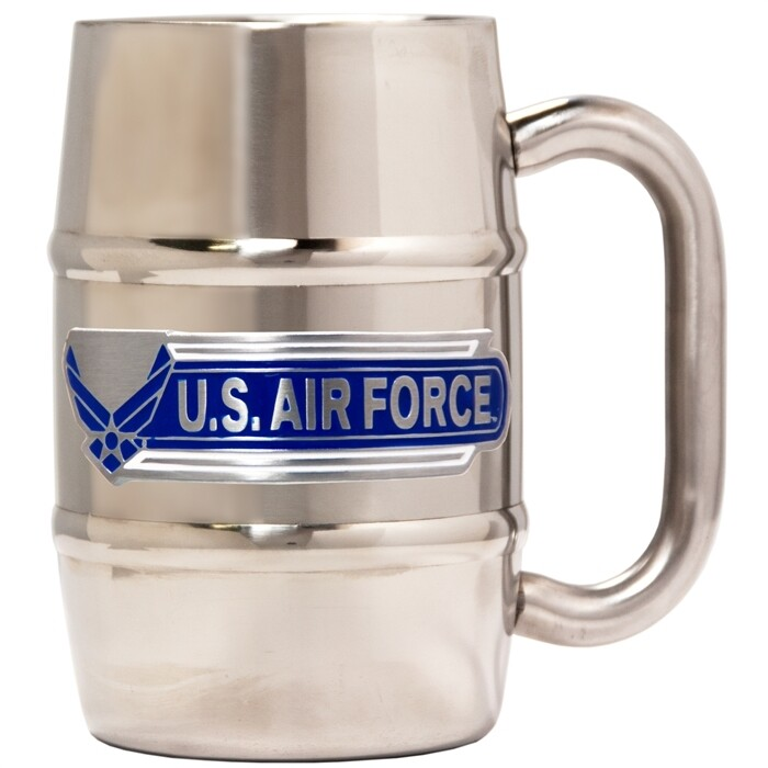 Air Force Stainless Steel Insulated Barrel Mug