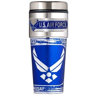 Air Force Stainless Steel 16 oz Tumbler