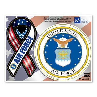 US Air Force Magnet Pair