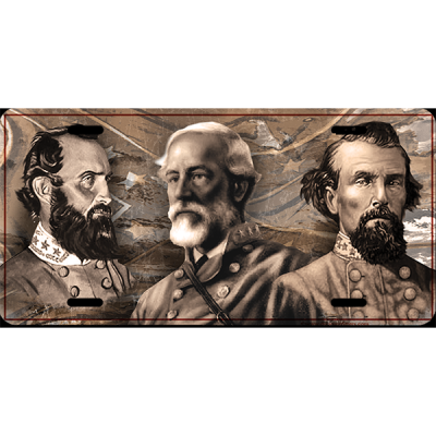 Generals License Plate By Dixie Outfitters®