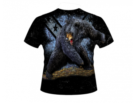 Bear All Over Shirt By Dixie Outfitters®