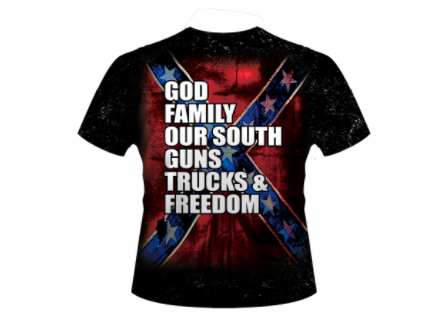 God Family All Over Shirt By Dixie Outfitters®