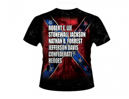 Confederate Hero's All Over Shirt By Dixie Outfitters®