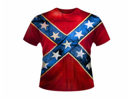 Confederate Flag All Over Shirt By Dixie Outfitters®