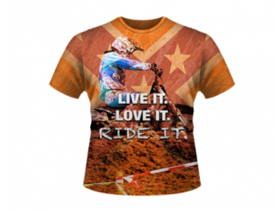 Live It All Over Shirt By Dixie Outfitters®