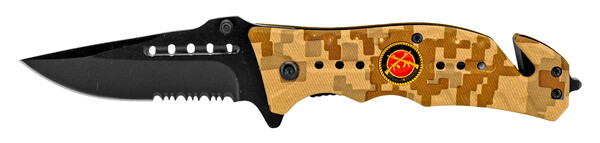 Marine Desert Digital Camo Folding Knife