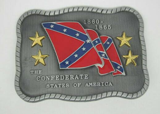 CSA Waving Flag Buckle
