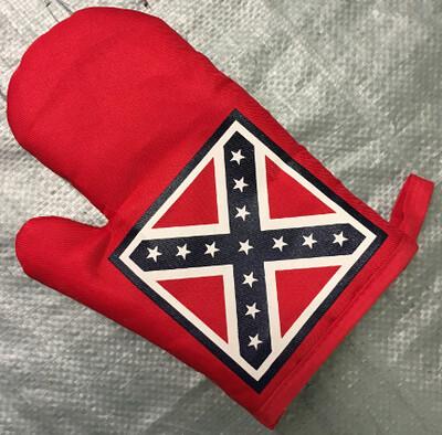 Battle Flag Oven Mitt