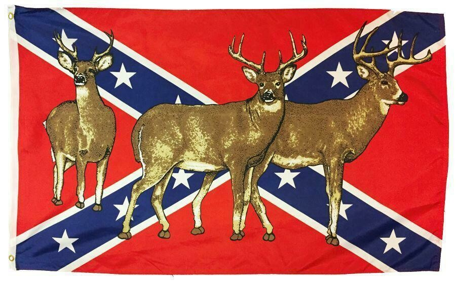 Battle Flag w/ Deer