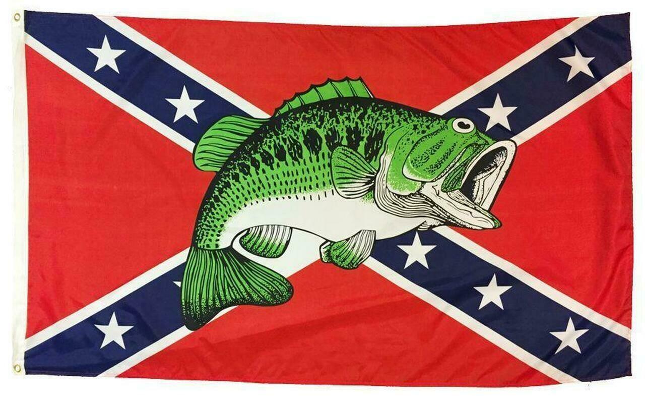 Battle Flag w/ Bass