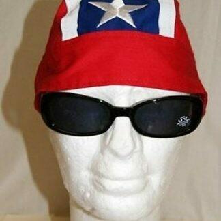 Rebel Embroidered Skull Cap