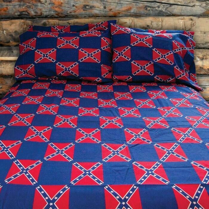 Confederate Flag Pillow Case - Pillow Case Only