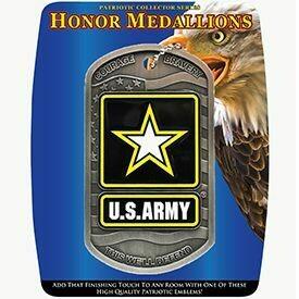 US Army Dog Tag Medallion