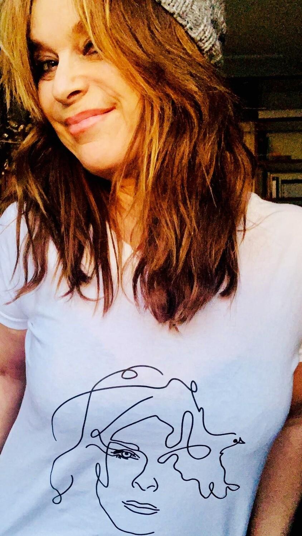 T-shirt in Weiss, extra für den Herren