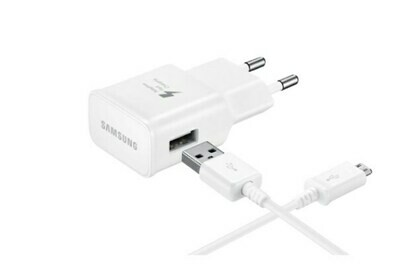 Samsung - EP-TA50EWE - Fast Charger + USB Cable to USB Type C Cable