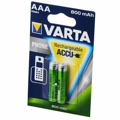 AAA Akku Phone Accu Micro AAA 800 mAh