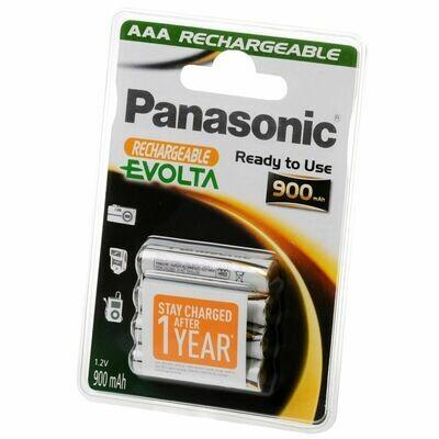 AAA Panasonic Akku Evolta P03I 900 mAh NiMH 4er