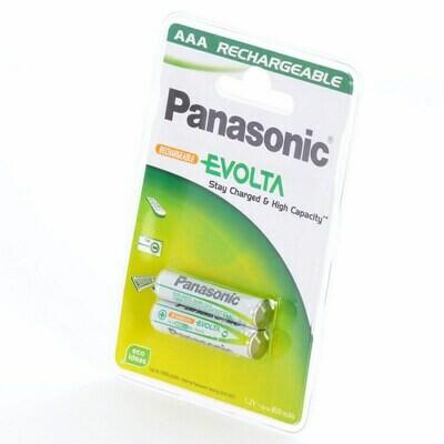 AAA Panasonic Akku Evolta P03I 750 mAh NiMH 2er