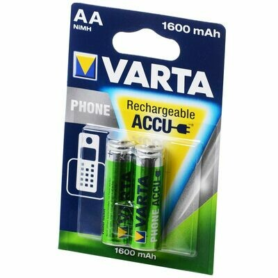 AA VARTA Akku Phone Accu Mignon AA 1600 mAh