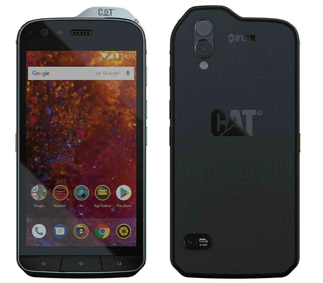 Cat S61 Smartphone (13,2 cm (5,2 Zoll), 64 GB, Dual-SIM, 4 GB RAM) Schwarz