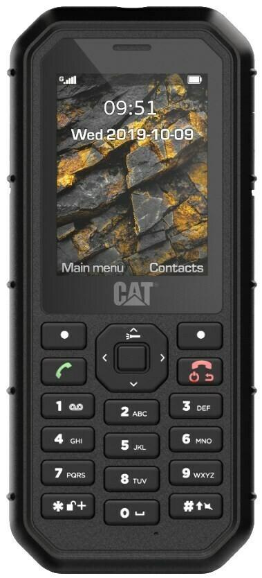 Cat B26 Mobiltelefon (6,09 cm (2,4 Zoll), 8 MB, Dual-SIM, 2 MP Kamera) Schwarz