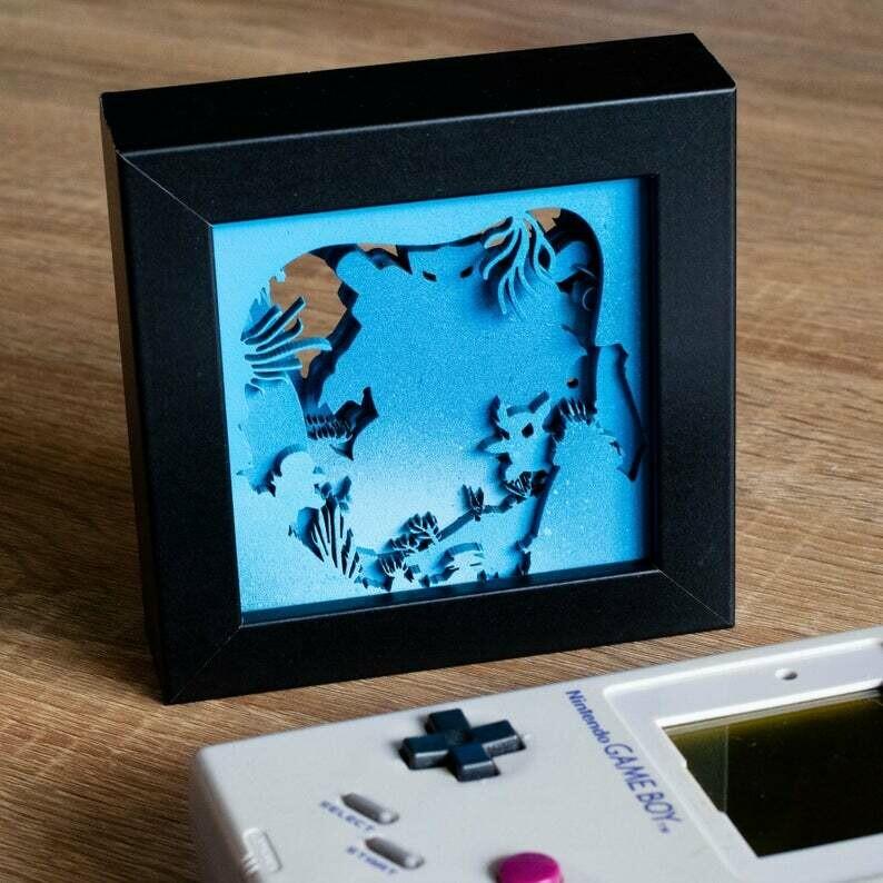 Blastoise Shadow Box
