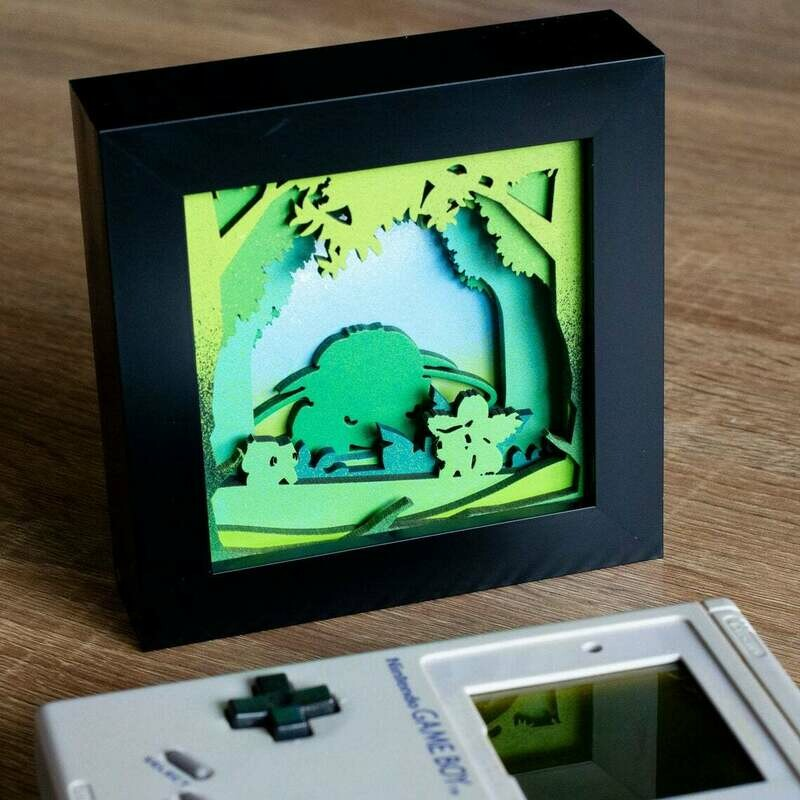 Venusaur Shadow Box