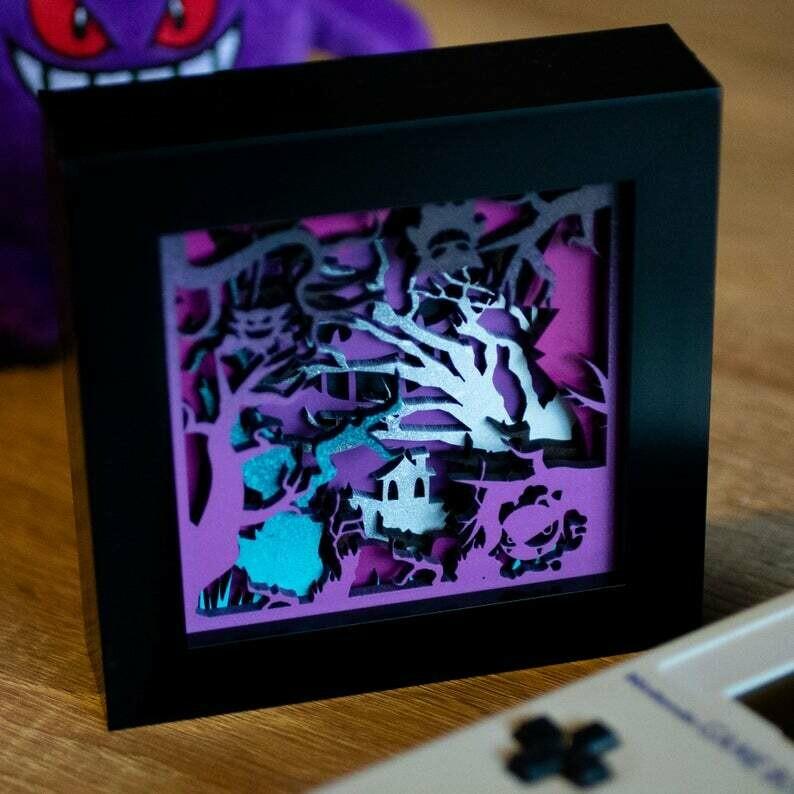 Gengar Shadow Box