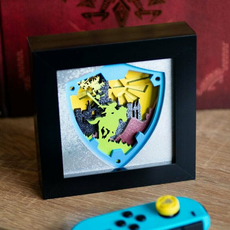 Zelda Shadow Box