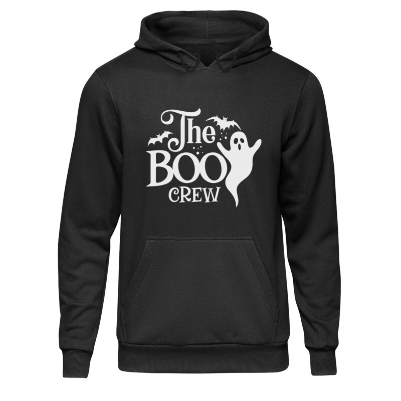 College Hoodie (The BOO Crew White)