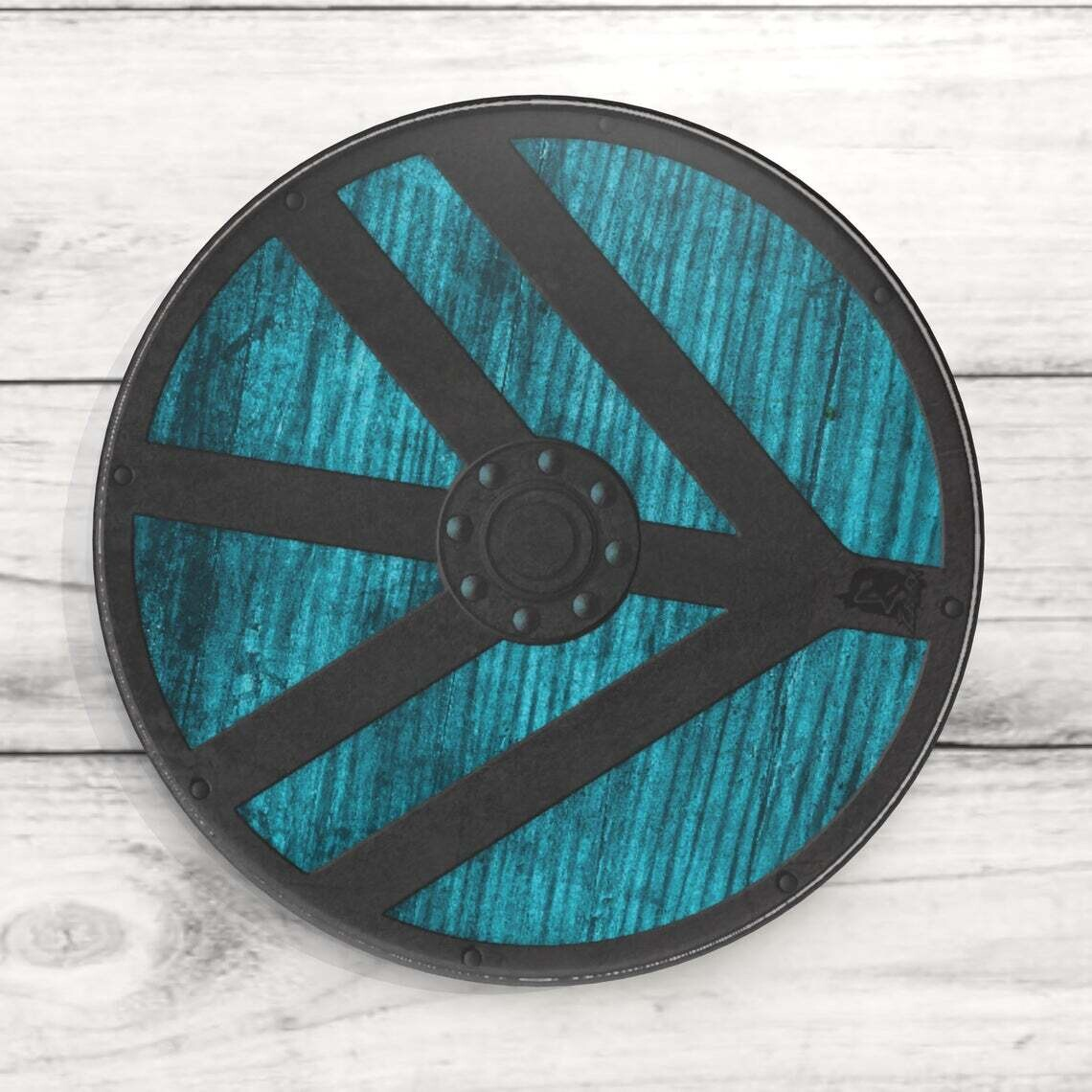 Lagertha Shield Custom Acrylic Coaster