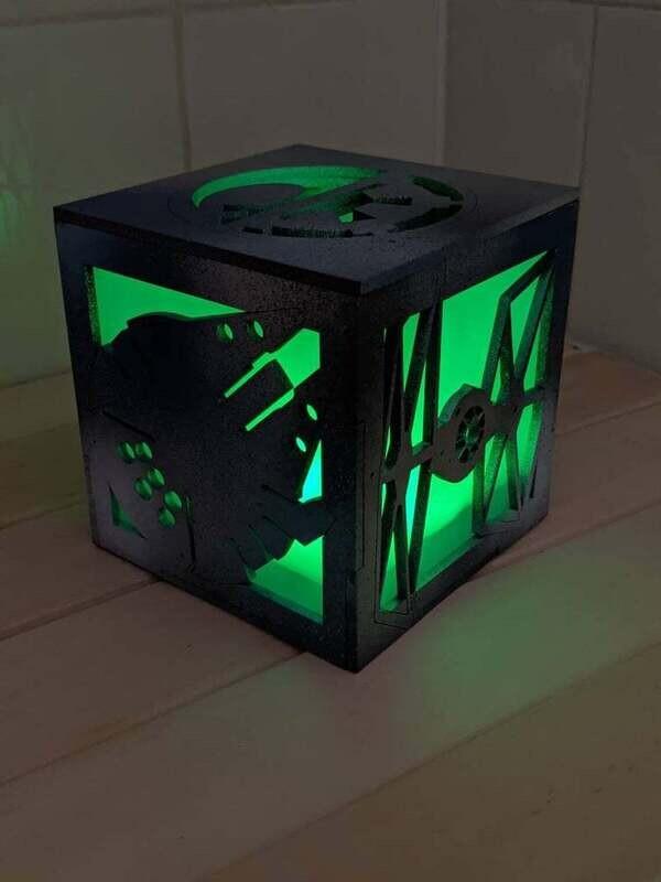Sci Fi L.E.D Tea Light Lantern