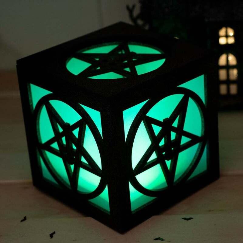 Pentagram Tea Light Lantern
